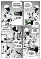 Комикс-инструкция для автомобильного аккумулятора