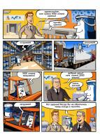 Серия рекламных комиксов для сайта