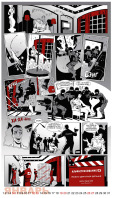 Рекламный комикс-календарь