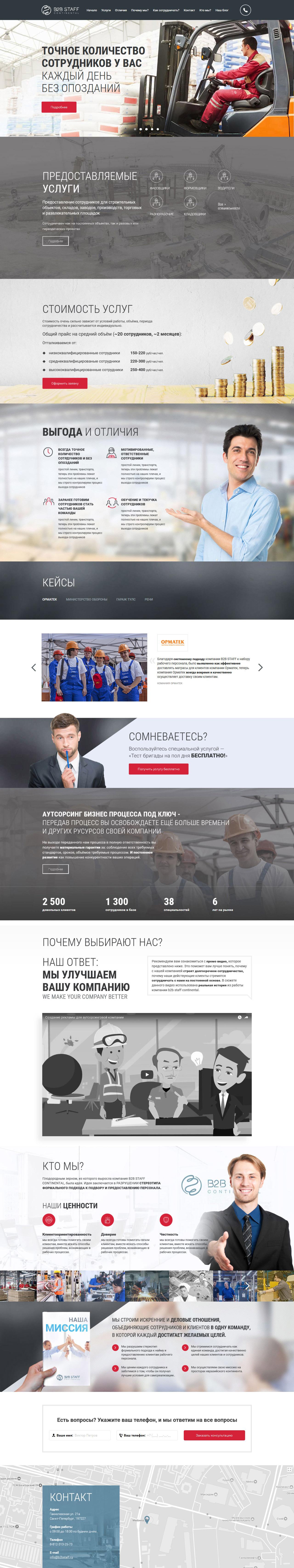 ___ ✅ Промышленность ✅ ___     B2B Staff Continental