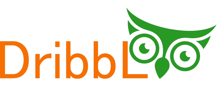 Разработка логотипа для сайта Dribbl.ru фото f_5755a9cdb04828fe.png