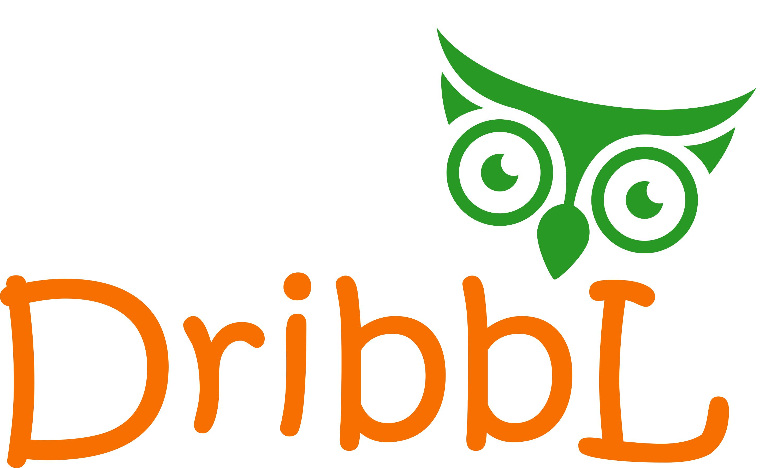 Разработка логотипа для сайта Dribbl.ru фото f_9885a9cdb01592ed.png