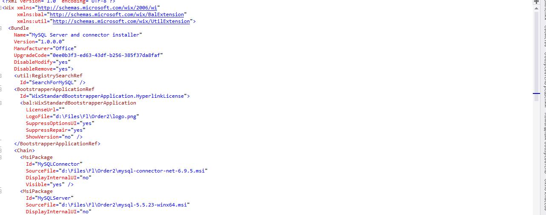 Решения на базе WiX Toolset (Windows Installer XML)