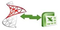 Обмен данными MS SQL Server  Excel