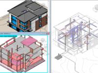 Рабочий проект дома для строительства.