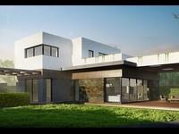 Архитектурный проект дома (эскизный проект) 200 квм