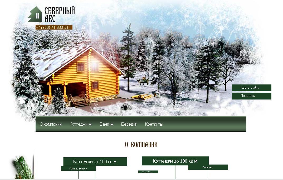 """Оптимизация сайта компании Северный Лес"""""""
