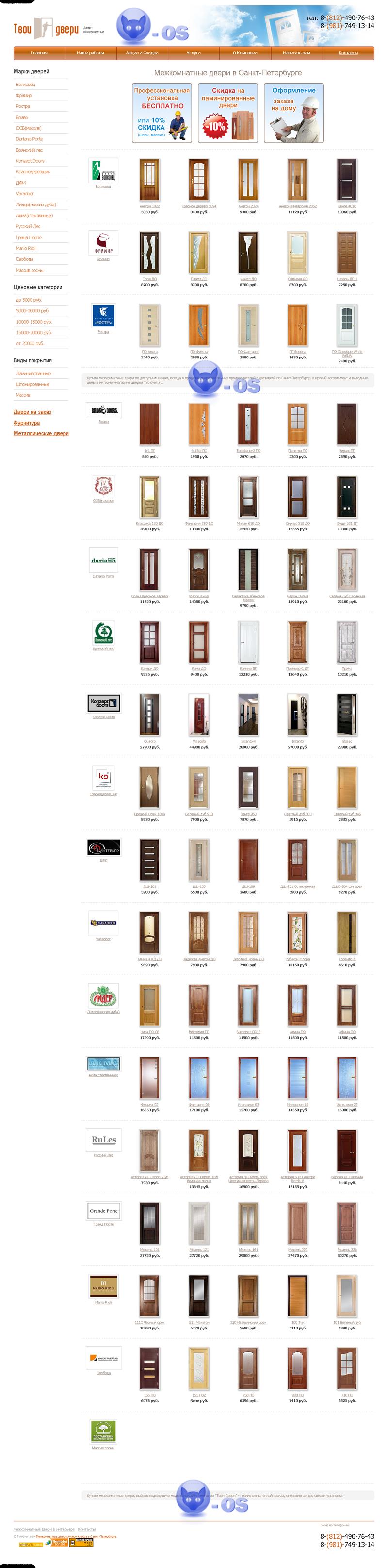 Tvoidveri.ru – Межкомнатные двери эконом