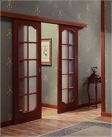 Межкомнатные двери в стиле винтаж