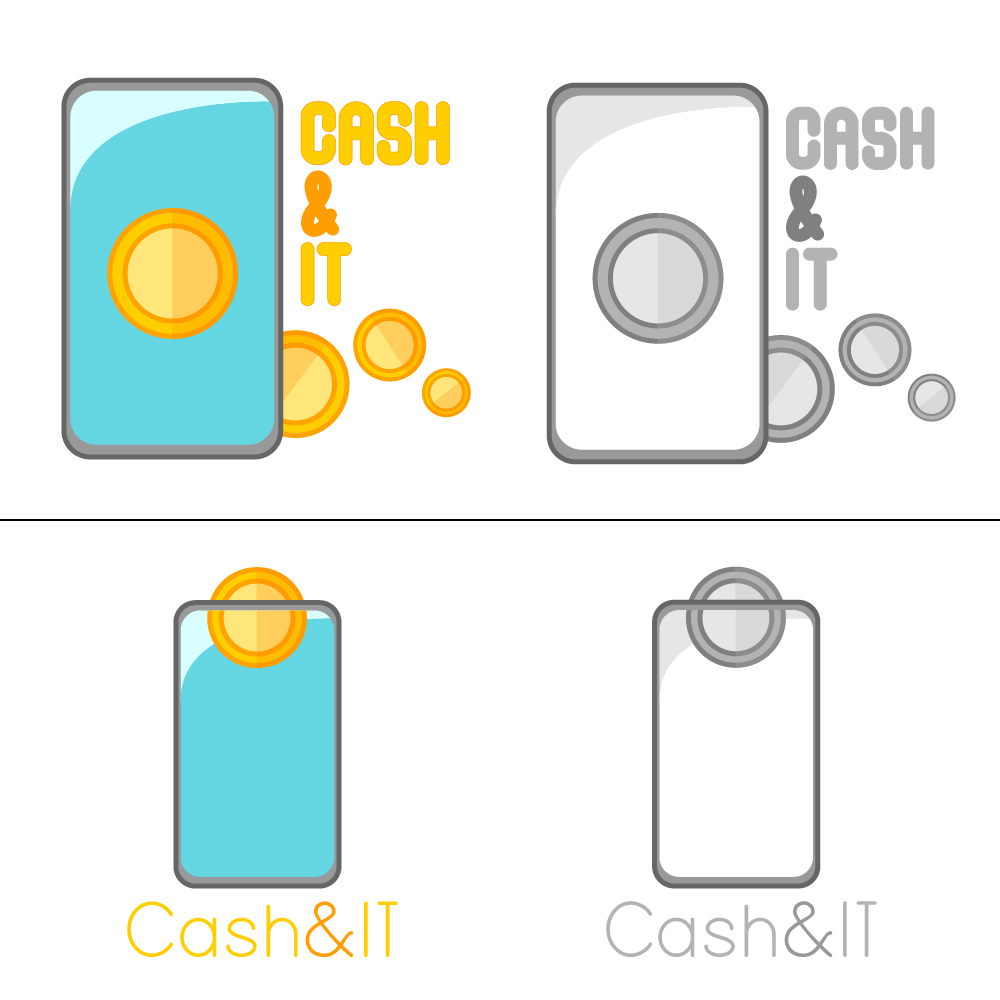 Логотип для Cash & IT - сервис доставки денег фото f_8585fdbeba67b607.jpg