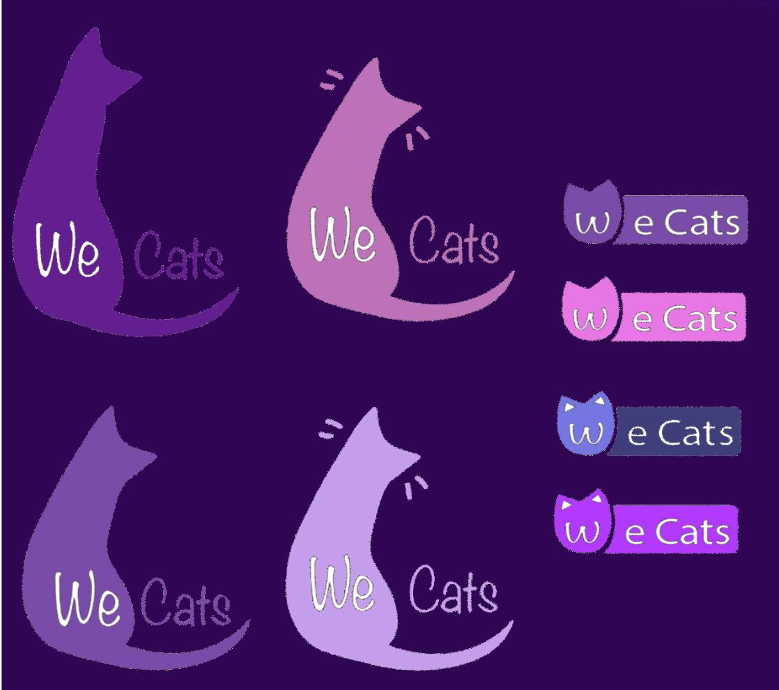 Создание логотипа WeCats фото f_3895f1adc7cc89a1.png