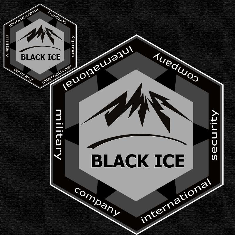 """Логотип + Фирменный стиль для компании """"BLACK ICE"""" фото f_18456f6ce69e4963.jpg"""