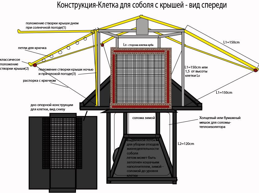 Дизайн конструкции для размещения в ней живого соболя фото f_940570151e0cfa6f.jpg