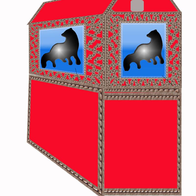 Дизайн конструкции для размещения в ней живого соболя фото f_97157017fbdb34ed.jpg