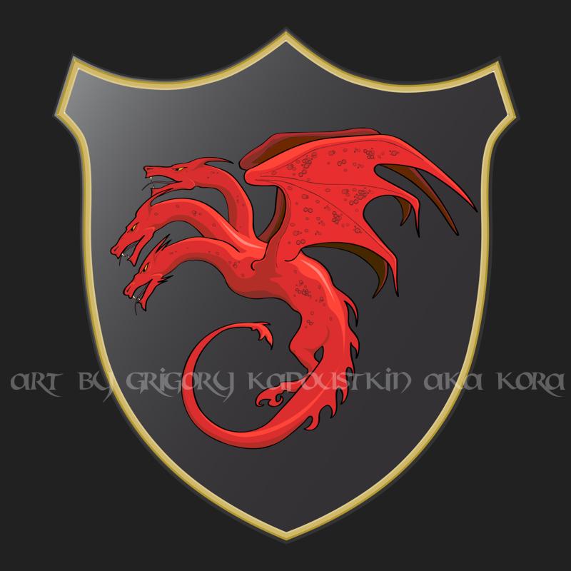 герб таргариенов