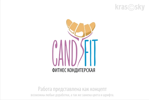 "Разработать логотип для ""CandyFit"" фото f_71051e3f839050c2.jpg"