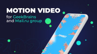 Motion video for Geekbrains and Mail.ru