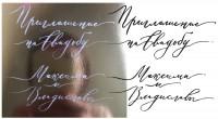 Перевод каллиграфии в вектор