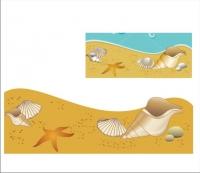 Перевод в вектор. Пляж
