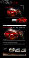 Super Car, сайт-визитка