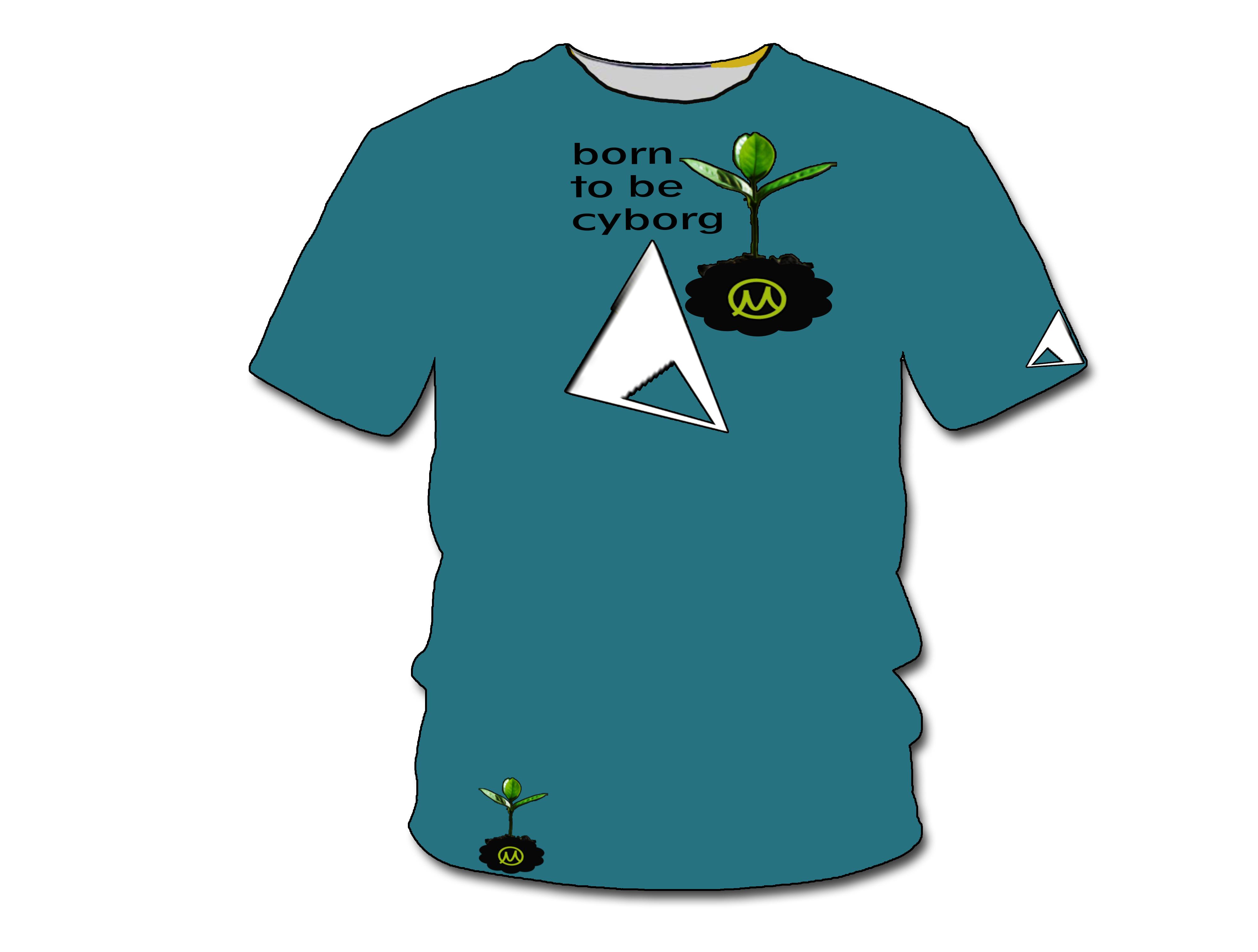 Нарисовать принты на футболки для компании Моторика фото f_56260a536836188d.jpg
