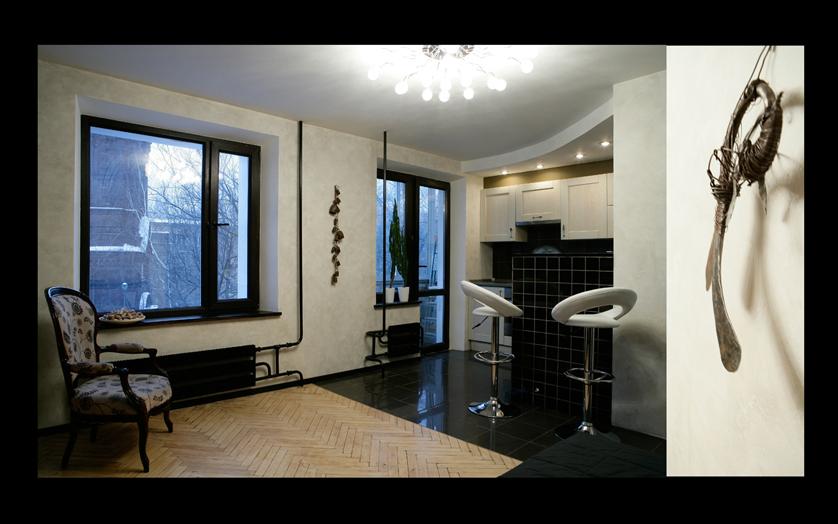 Квартира-студия МОСКВА