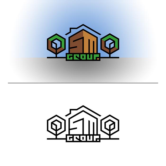 Создание логотипа для строительной компании OSMO group  фото f_24259b685d36f015.jpg
