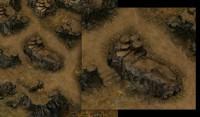 Игровая локация в изометрии для  RPG MMO