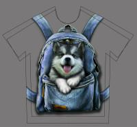 разработка принта на футболку