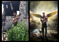 "Разработка персонажа из фото для батальона ""Ангел"""