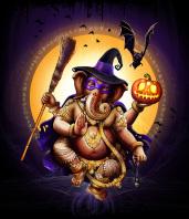 Иллюстрация для оформления  вечеринки на хеллоуин