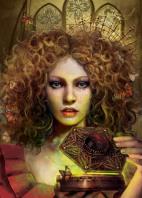"""""""Портрет ведьмы"""" -  иллюстрация на обложку книги"""