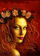 Иллюстрация на обложку книги про ведьм