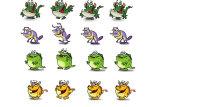 Графика к Flash-игре / разработка персонажей и подготовка к анимированию