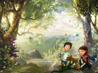Иллюстрация на обложку детской книги