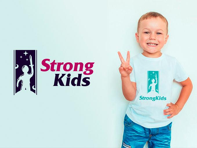Логотип для Детского Интернет Магазина StrongKids фото f_9595c6e7c524825f.png