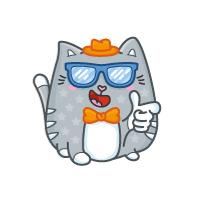 Стикеры-Кот!