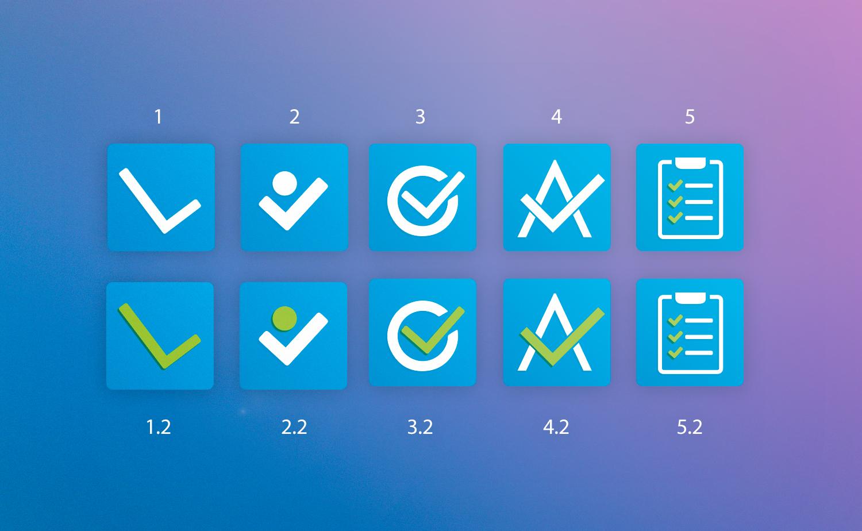 Логотип / иконка сервиса управления проектами / задачами фото f_2385975c1d5f079d.jpg