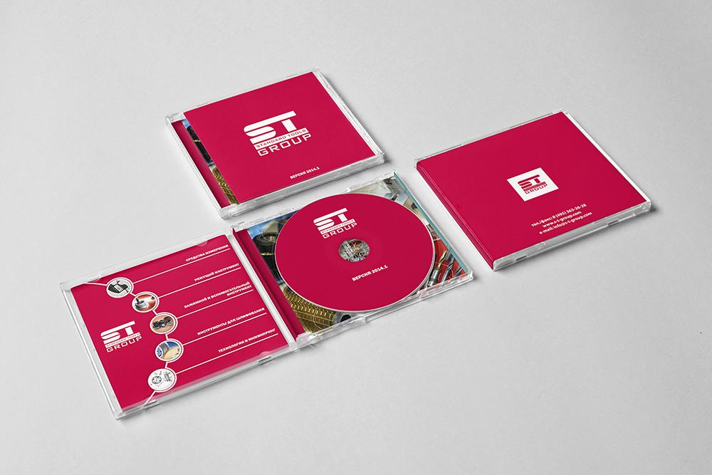 CD-диск компании СТ Групп