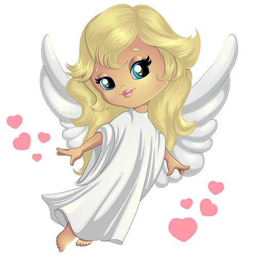 Детская иллюстрация Ангел