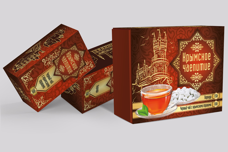 Дизайн коробки сувенирной  чай+парварда (подарочный набор) фото f_4955a5920691f466.jpg