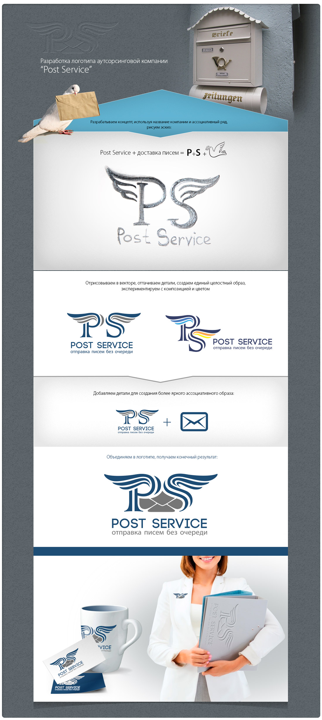 Post Service – доставка деловой корреспонденции