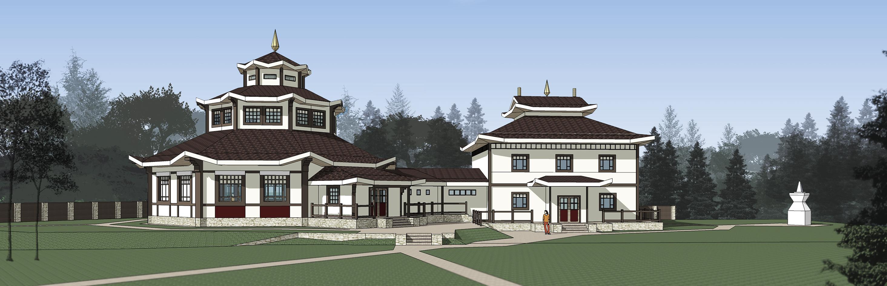 Буддийский ретритный центр