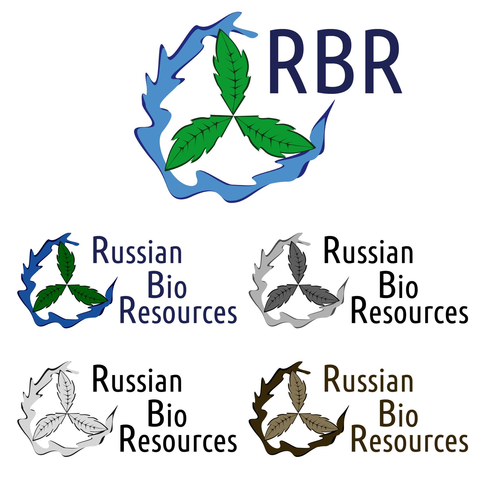 Разработка логотипа для компании «Русские Био Ресурсы» фото f_84058fcf9607788b.jpg