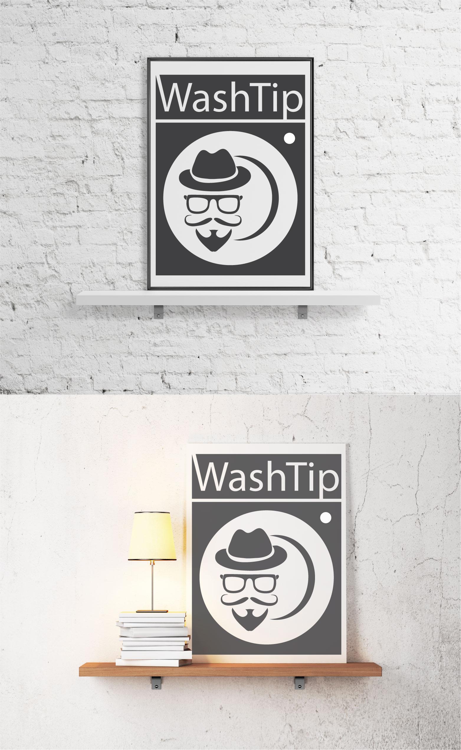 Разработка логотипа для онлайн-сервиса химчистки фото f_0395c0ea136b2f56.jpg
