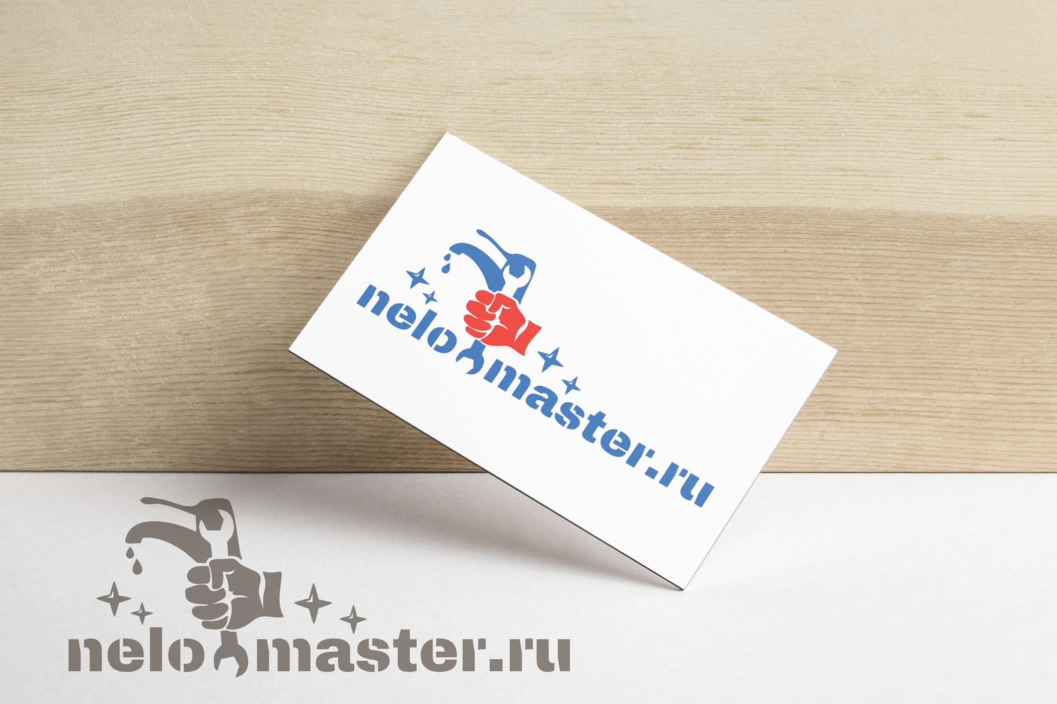 """Логотип сервиса """"Муж на час""""=""""Мужская помощь по дому"""" фото f_5365dc47f27b3223.jpg"""