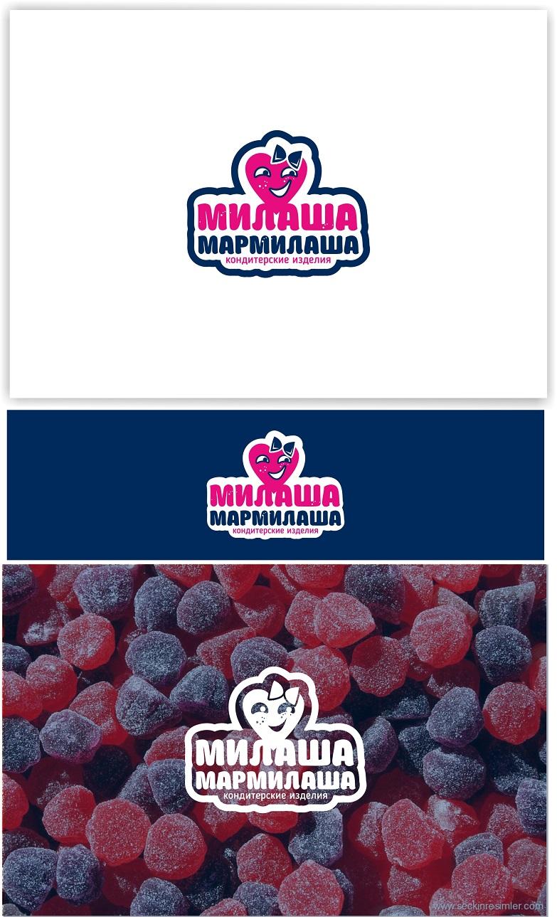 """Логотип для товарного знака """"Милаша-Мармилаша"""" фото f_534587e2610b5f5c.jpg"""
