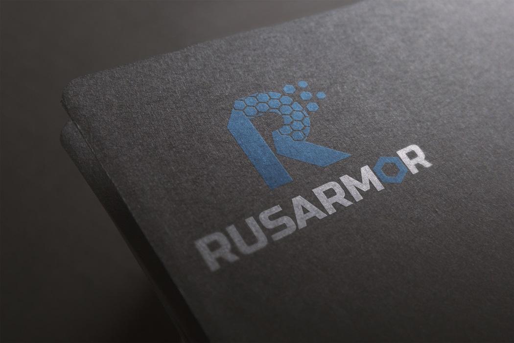Разработка логотипа технологического стартапа РУСАРМОР фото f_8485a09da6fc06d3.jpg