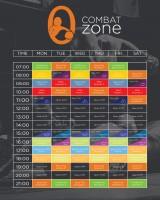 Расписание для Фитнесс Центра Ozone