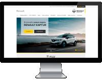 Сайт для компании - Renault
